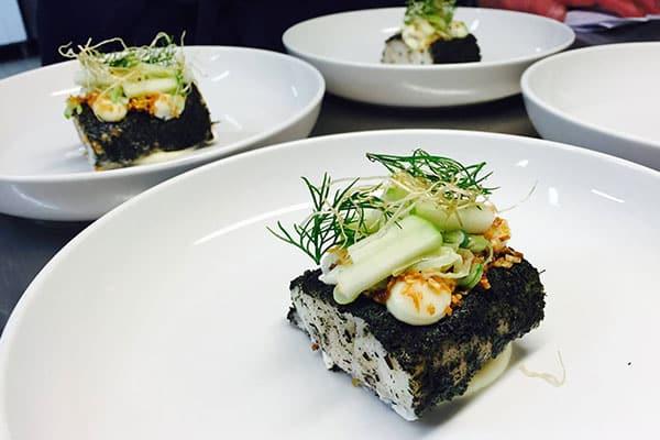 fiskekrogen matlagning evenemang